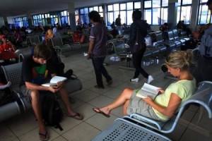 Sarpras rusak di Terminal Giwangan terpaksa dibiarkan