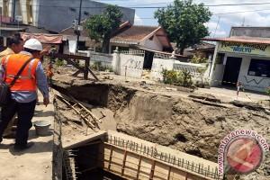 Pekerjaan drainase Babaran Yogyakarta berjalan lebih cepat