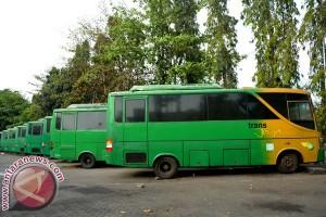 20 bus eks Transjogja terjual habis