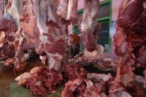 Daging sapi di Wonosari Rp120 ribu/kg