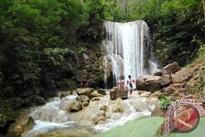 Kunjungan wisatawan di Grojogan Lepo meningkat