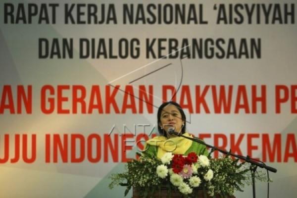 Menteri Puan buka Rakernas Aisyiyah di Yogyakarta