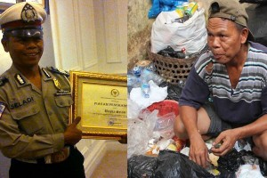 Bripka Seladi, Polisi pemulung tak silau suap