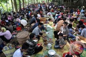 """Masyarakat Bantul gelar tradisi """"nyadran"""" jelang Ramadhan"""