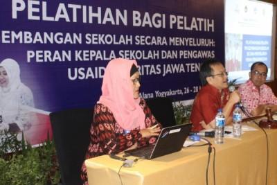 USAID Prioritas latih pengawas sekolah jadi manajer