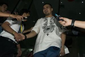 Saipul Jamil enggan jelaskan kasusnya di KPK