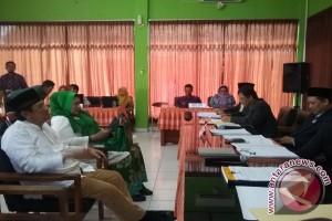 Zuhadmono-Iriani daftar ke KPU Kulon Progo