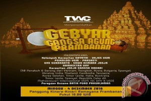 "PT TWC gelar ""Gebyar Gangsa Agung Prambanan"""