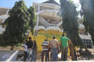 Presiden tinjau gedung STAI Bireuen rusak akibat gempa