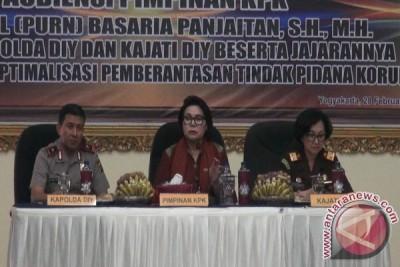 KPK kuatkan lembaga hukum DIY tangani korupsi