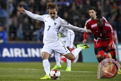 Kualifikasi Piala Dunia 2018 - Prancis mantap di puncak Grup A Eropa