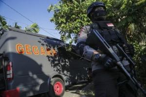 Delapan terduga teroris ditangkap desus 88 satu diantaranya tewas