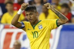 Sepak Bola - Neymar bawa Brazil semakin dekat piala dunia