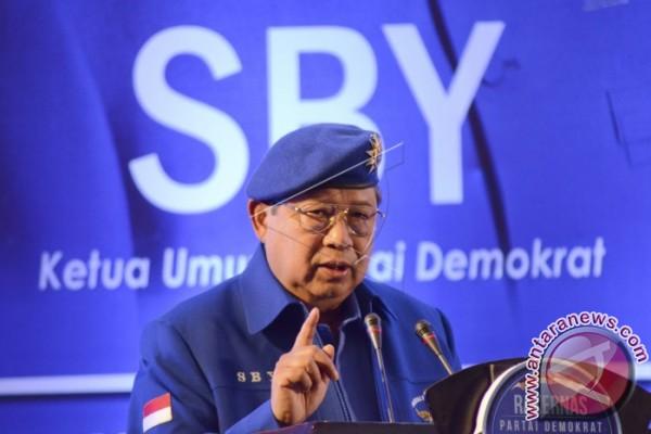 SBY: terlalu dini bicara Capres 2019
