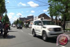Rombongan Obama tiba di Yogyakarta