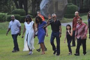 Obama kunjungi Puncak Becici Bantul