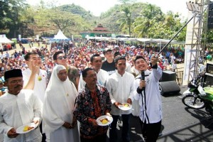 """Ribuan warga hadiri """"Yogrt Pesta'in Sekampung"""""""