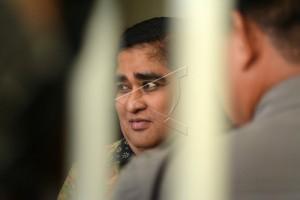 Polisi sterilkan ruang sidang Dimas Kanjeng
