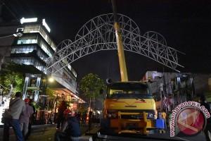 Gapura batas Kota Yogyakarta kembali terpasang