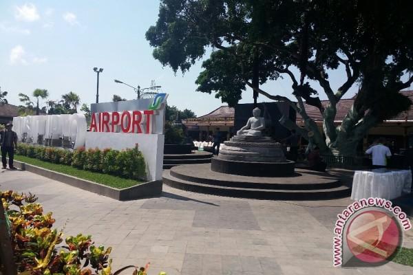Bandara Adisutjipto dipercantik Taman Budaya Candi Borobudur
