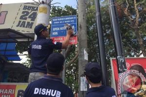 Vandalisme APILL beralih ke tiang listrik