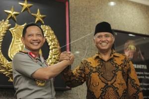 Ketua KPK: hubungan Polri-KPK harmonis