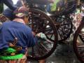 Jamasan Kereta Keraton Ngayogjokarto Hadiningrat
