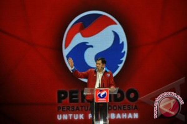 Perindo partai pertama daftar KPU