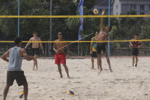 Timnas Voli pantai target final turnamen Asia-Pasifik