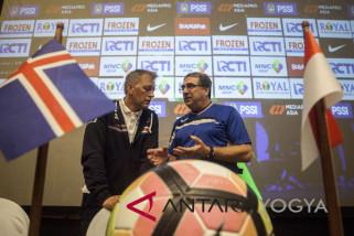 JELANG LAGA UJICOBA INDONESIA VS ISLANDIA