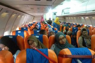 Ratusan ibu hamil relaksasi di pesawat STTKD