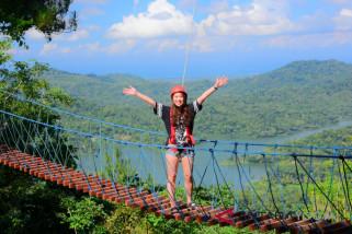 Seribu wisatawan kunjungi Kalibiru Kulon Progo