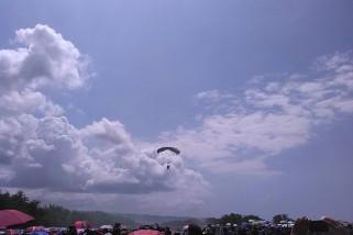 Diperkirakan 50.000 wisatawan saksikan Jogja Air Show