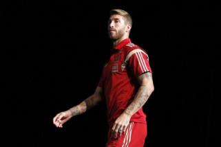 Sergio Ramos bertekad jadi pemain terbaik Spanyol