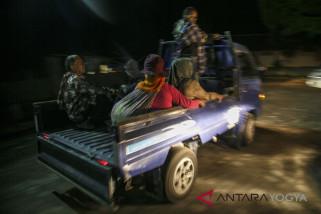 55 warga lereng Merapi bertahan di pengungsian