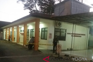 RS Bhayangkara  Yogyakarta masih dijaga ketat