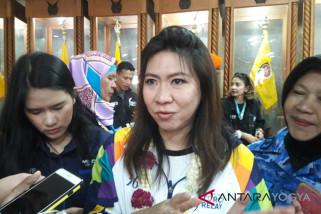 Susi Susanti: menjaga api Asian Games menegangkan