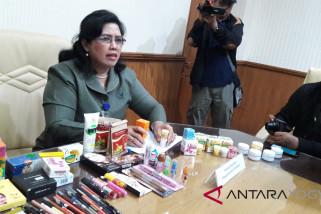 2.907 produk kosmetik ilegal di Yogyakarta disita