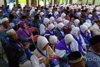 63 persen jamaah calon haji Yogyakarta lansia