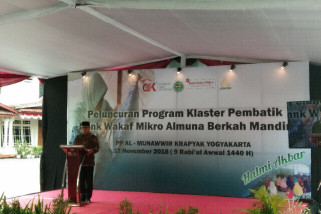 OJK mendirikan 40 Bank Wakaf Mikro