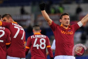 Di 'Hari Totti', AS Roma Bukukan Kemenangan dan Amankan Posisi ke-2
