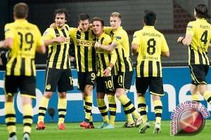Kalahkan Dortmund, AS Monaco Maju Empat Besar Liga Champions