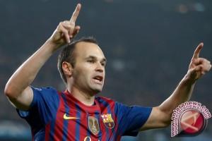 Iniesta Absen Karena Cedera di Piala Super Spanyol