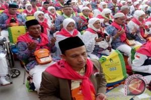 Calon Haji Kloter 1 Embarkasi Banjarmasin Sudah Masuk Asrama