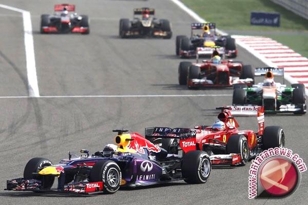 Pebalap F1 yang terdaftar berlaga pada musim 2019