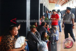 Arus Mudik Di Bandara Muara Teweh Mulai Ramai
