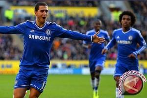 Demi Tuntaskan Ambisi Bersama Chelsea, Hazard Tolak Madrid