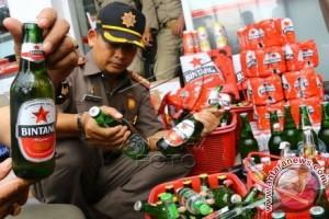 Beri Sanksi Tegas Penjual Minuman Beralkohol