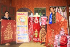 Pengembangan Batik Seruyan Masih Sulit Akibat Terkendala Dana