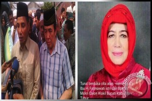Istri Calon Wakil Bupati Kotawaringin Timur Wafat
